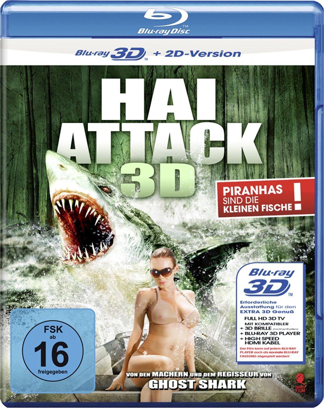 Swamp Shark 2011 Dual Audio Hindi 300MB BluRay [Hindi – English] ESubs