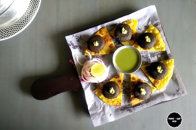 Mushroom Galouti @Biergarten| Whitefield | Bangalore