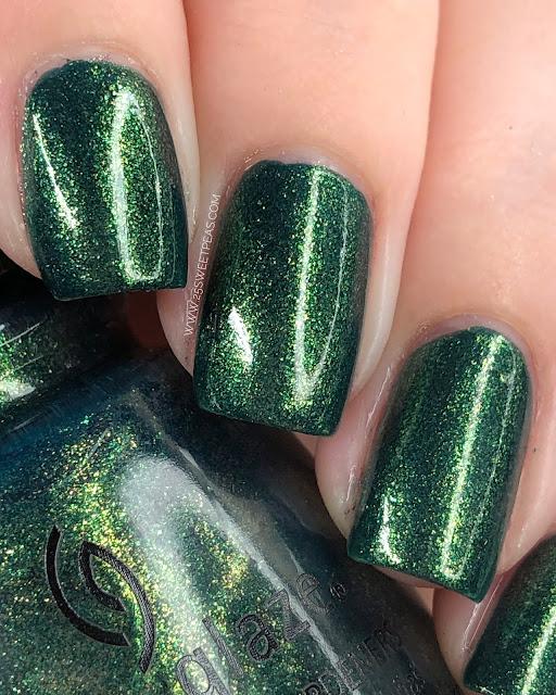 China Glaze Green with Jealousy