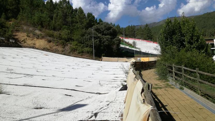 Pista de Ski para Aprendizagem