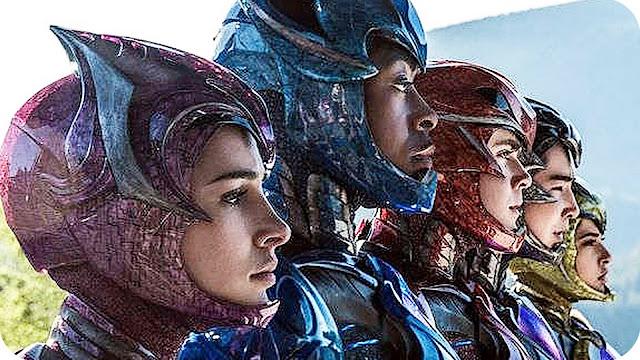 Confira o trailer oficial de Power Rangers!