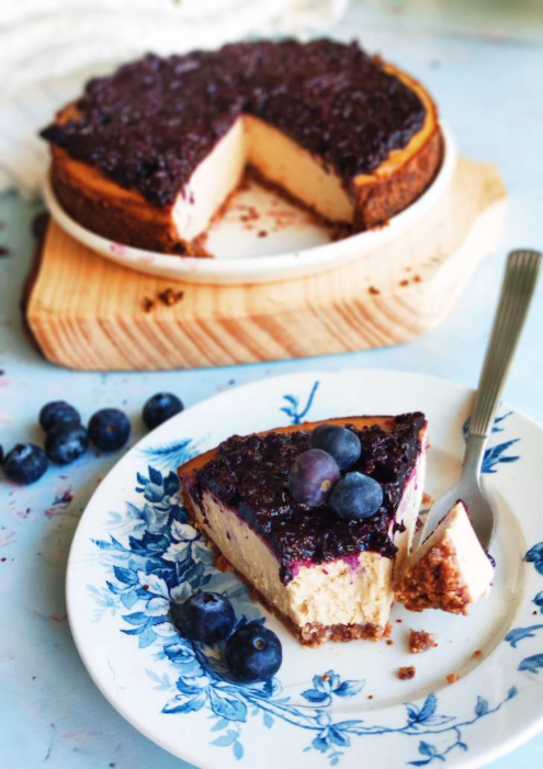 Fitness And Chicness-Receta Vegan New York Cheesecake-1