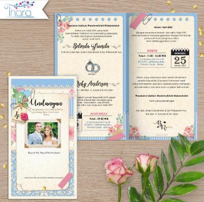 Contoh Isi Surat Undangan Pernikahan Terbaru