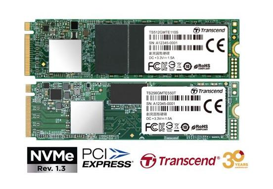 Transcend Reveals High-Performance PCIe NVMe M.2 SSDs for Consumer and Embedded  Applications