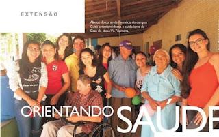 Sétima edição da UFCG Revista traz ação de extensionistas do CES com idosos, em Cuité