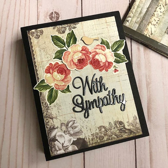 Sunny Studio Stamps: Everything's Rosy Customer Card by Tania