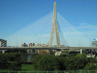 Leonard P Zakim Bridge Over Park