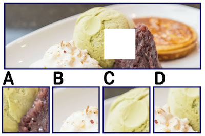Figure: Try and find the missing square on this delicious delight!