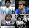 Legenda Sepak Bola Dunia Diego Maradona di Kabarkan Meninggal Dunia || dutametro