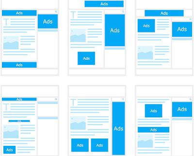 Penghaslan blogger dari Display Ads