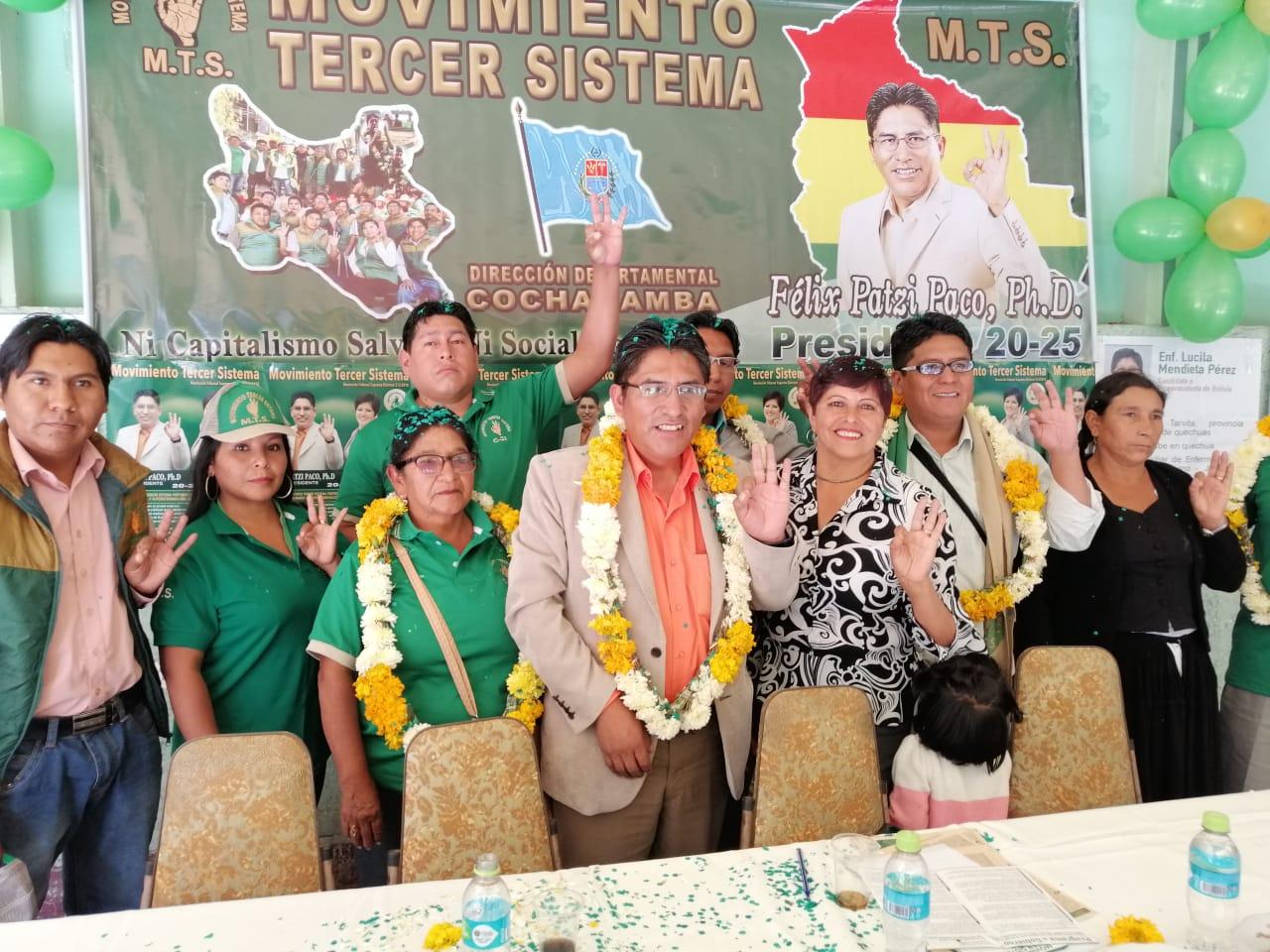 El gobernador paceño y líder del MTS en campaña electoral de fin de semana / MTS