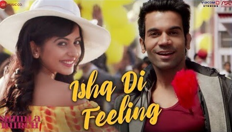 Ishq Di Feeling Lyrics - Shimla Mirch - Meet Bros