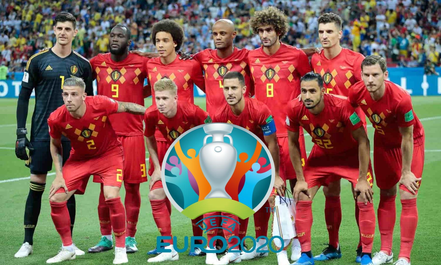 Senarai Rasmi Pemain Belgium EURO 2020