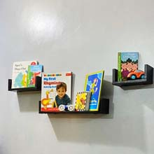 Ledge wall shelves for kids decor in Port Harcourt, Nigeria