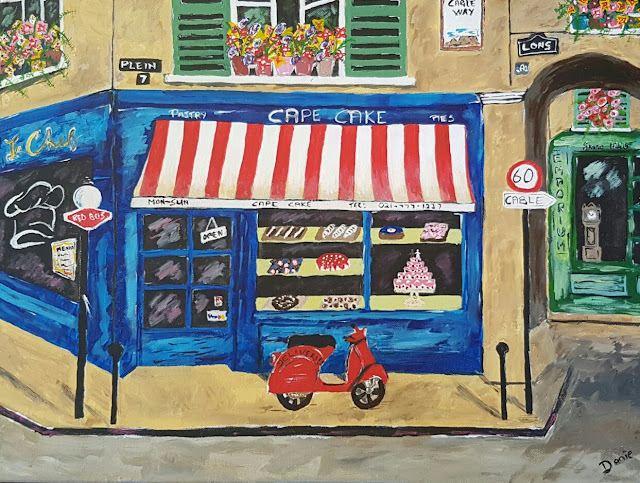 Cape town cake shop