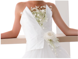 abito da sposa romantico, fashion e chic