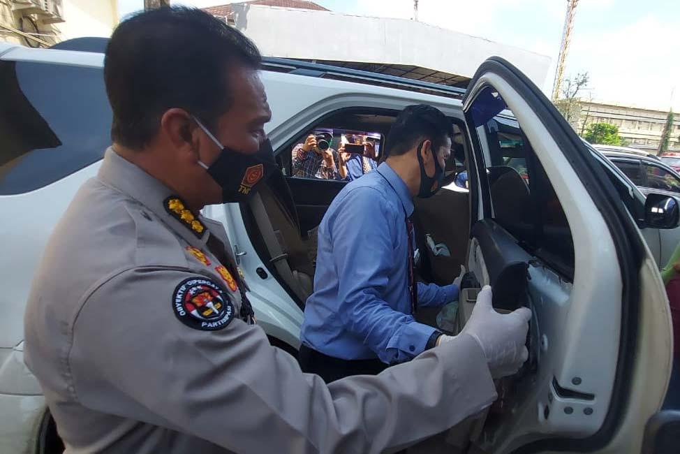 Pemeriksaan terhadap Pasutri di Palembang