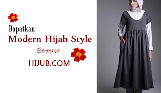 modern hijab style yang elegan