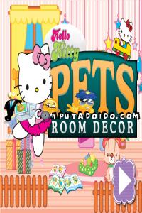 computadoido jogos Jogos da Hello Kitty de decoração Jogos de meninas