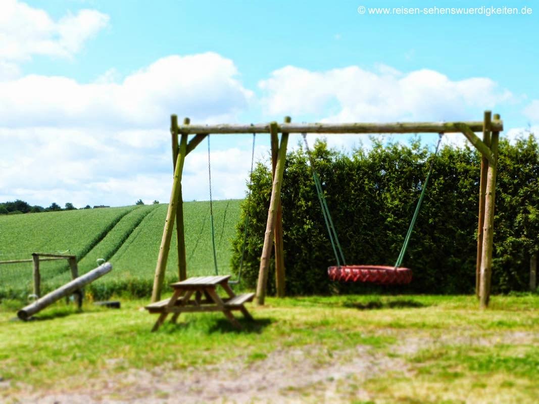 Spielplatz auf dem Bauernhof