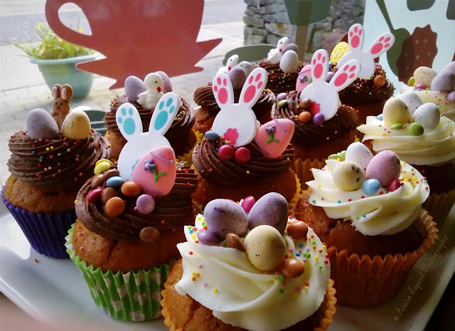 Easter cupcakes from Enjoy from the White Gables