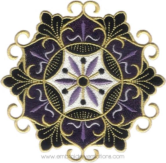 Embroidery Designs 43fancy Flower Designs