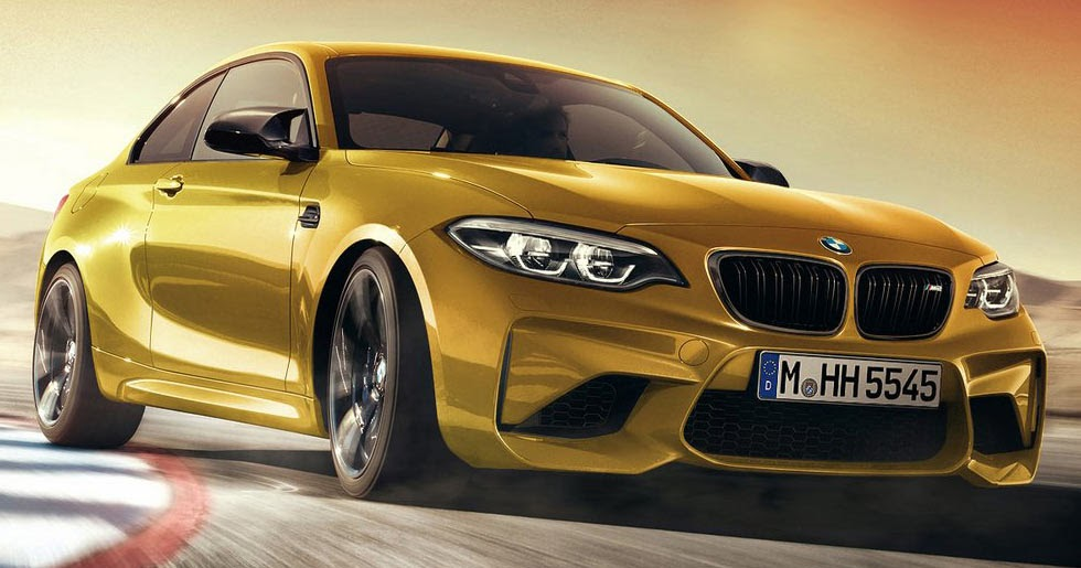 2018 bmw m2 facelift was accurately predicted a few weeks ago