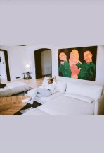 Wizkid Unviels Pictures Of his Expensive Siiting Room