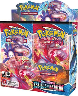 Pokémon TCG Booster Box Estilos de Batalha