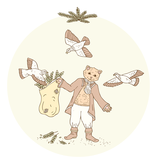 Emma Margaret Illustration Fairytale Puss in Boots 2016