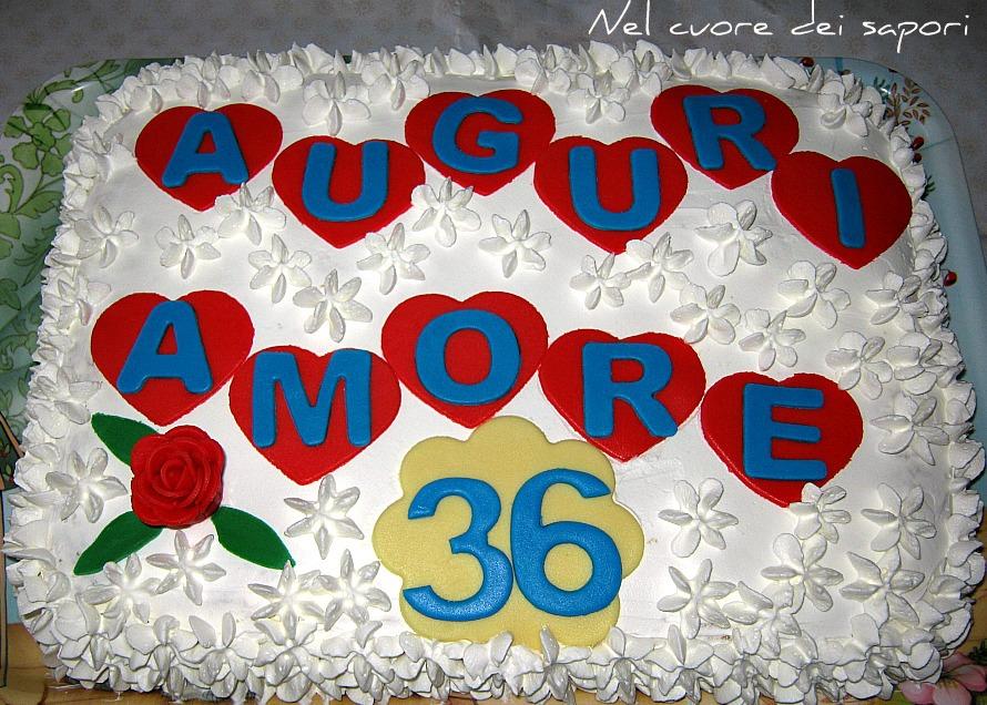 Nel cuore dei sapori: Torta di compleanno romantica