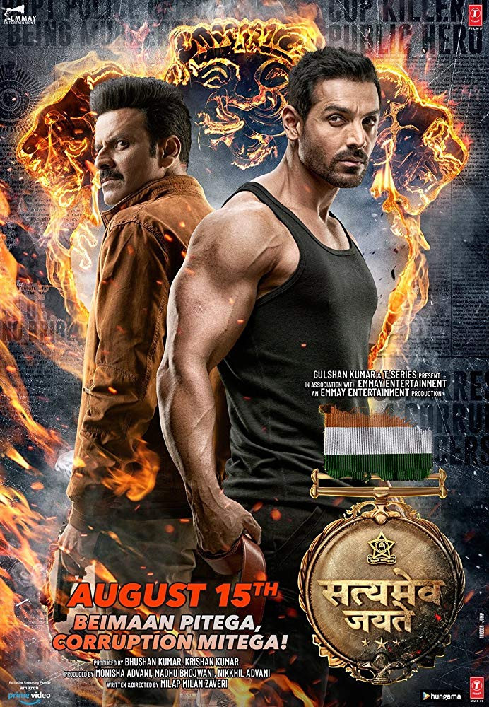 Satyameva Jayate (2018) NEW Hindi 550MB Pre-DVDRip 720p HEVC x265 BEST full movie free download and watch online