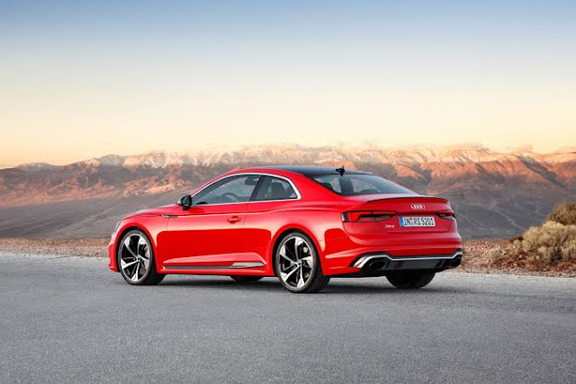 2019 New Audi RS5 Sportback in review From £62,740 back view