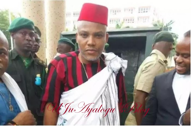 Just In: Nnamdi Kanu Reveals Who Will Take Over In ANAMBRA