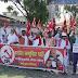 प्रशांत भूषण के विरूद्ध दिए गए फैसले को वापस ले कोर्ट: भाकपा कार्यकर्ताओं का प्रदर्शन