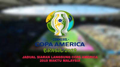 Jadual Siaran Langsung Copa America 2019 Waktu Malaysia