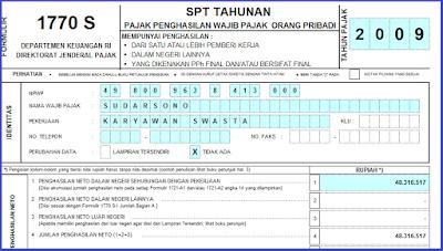 Download File : Buku Form Pajak SPT Bagi Guru Dan Umum