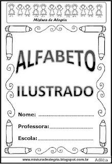 Alfabeto ilustrado capa