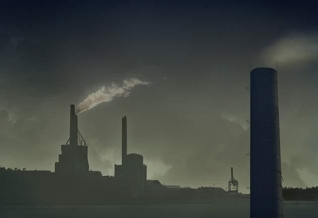 वायु प्रदूषण के स्रोत क्या हैं प्राकृतिक और मानव निर्मित (Air Pollution Sources natural and man-made Hindi)