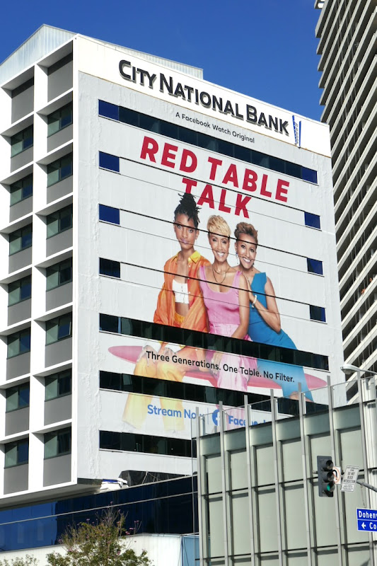Red Table Talk season 3 Facebook Watch billboard