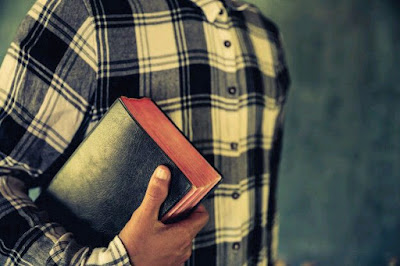 A christian with the bible