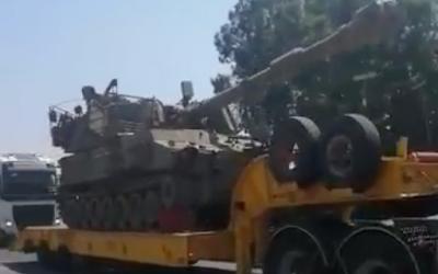 IDF envia artilharia para a fronteira norte com o aumento das tensões com o Hezbollah