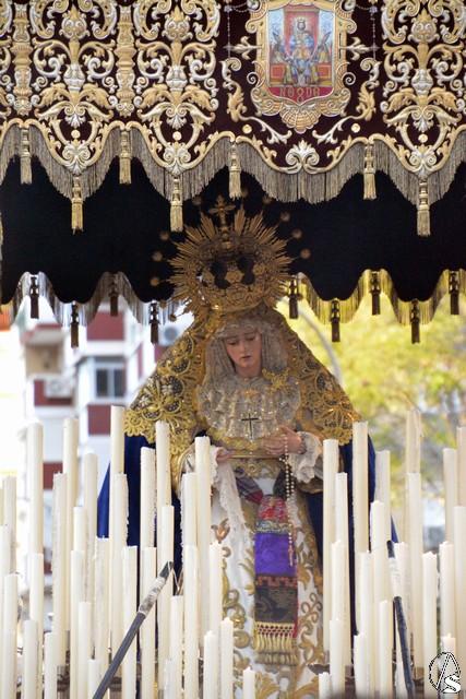 Comunicado del Grupo Parroquial de la Virgen de la Caridad de San Lucas en el día de la procesión