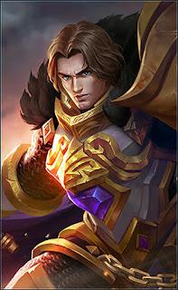 Tigreal Warrior Of Dawn Heroes Tank of Skins V2