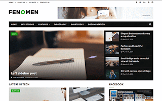 Fenomen Minimal Blogger Template