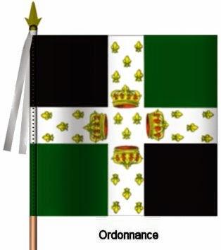 La Reine Infanterie Ordonnance Flag