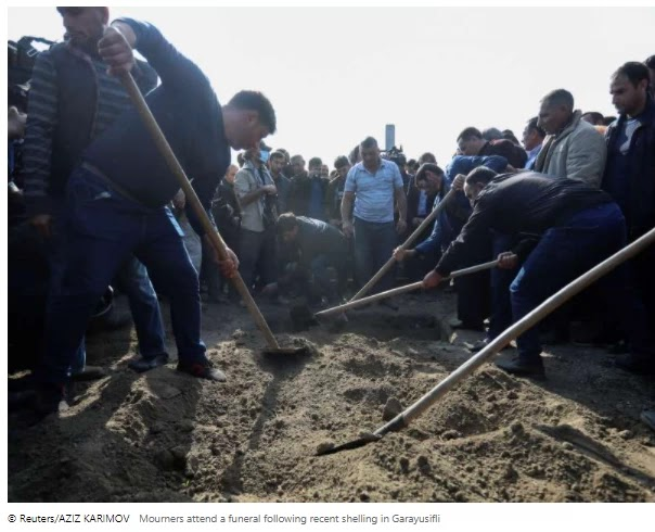 Nagorno-Karabakh conflict claims shelling