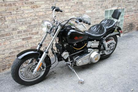 Harley Davidson FXB Lowrider SholveHead Sturgis 1980