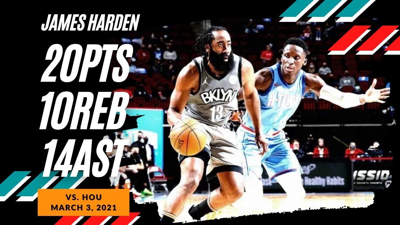 James Harden 29pts 10reb 14ast vs HOU | March 3, 2021 | 2020-21 NBA Season