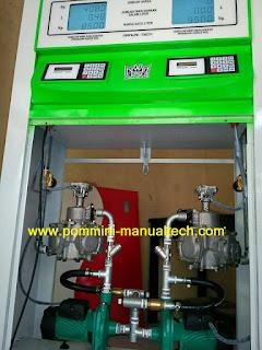 mesin pom mini 2 nozzle